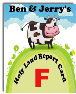 Ben & Jerry's can't be a Green Biz in Jewish settlements