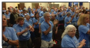 Standing ovation for the South Portland Draft Ordinance Committee as it unveils plan to block tar sands Wednesday, June 25. (Photo: Environment Maine) (from CommonDreams.org)