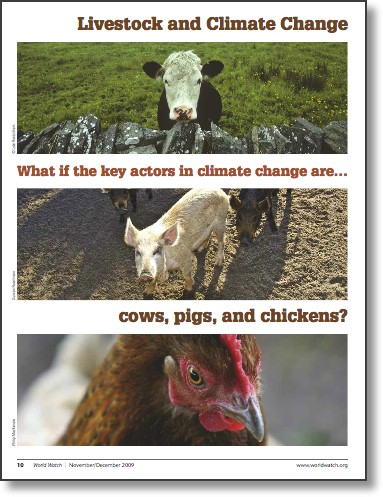 Cowspiracy Worldwatch Livestock and Climate Change